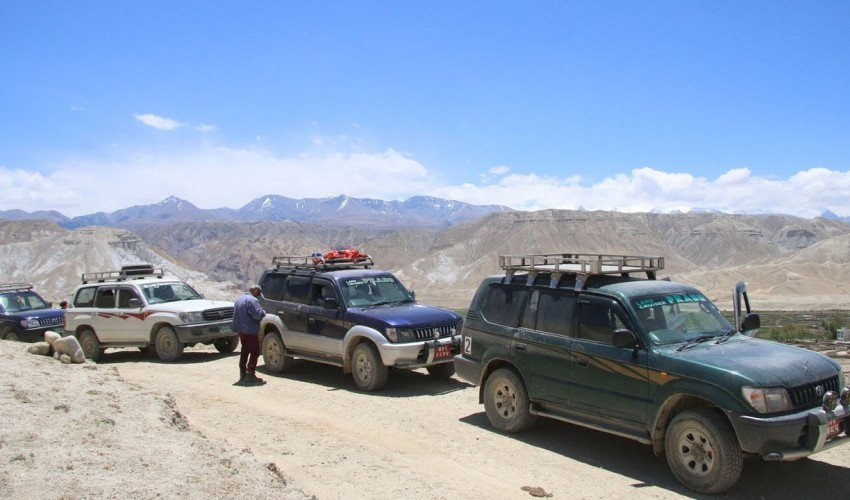 Upper Mustang 4 WD Jeep Tour